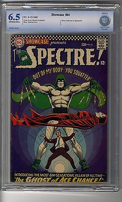 Showcase # 64 - CBCS 6.5 OW/white Pages - Spectre Cover