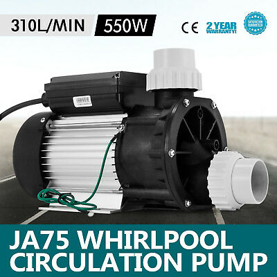 NEWEST JA75 Hottub Whirlpool Circulation Pump Jet Pump SPA LX Low Noise 550W