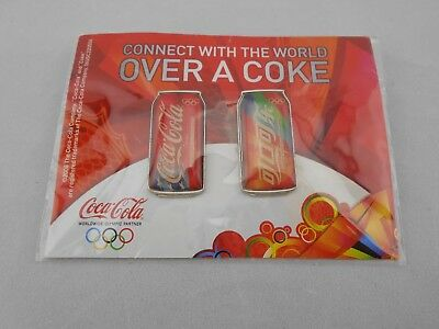 2008 Coca Cola Coke Connect With The World Over A Coke Olympic Pins Beijing
