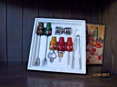 7pc Vintage Bar Set,  like new in the box