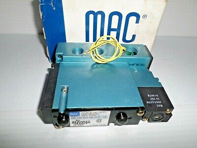 *NEW IN BOX*  MAC 92B-AAA-BAA-DM-DDDP-1DM SOLENOID VALVE 24Vdc