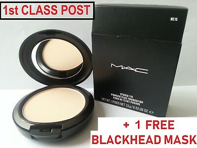 MAC Studio Fix Powder Plus Foundation  **NW & NC** 22 Shades** Brand New & Boxed