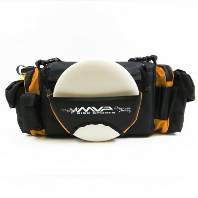 (Orange) - MVP Nucleus Tournament Disc Golf Bag. MVP Disc Sports