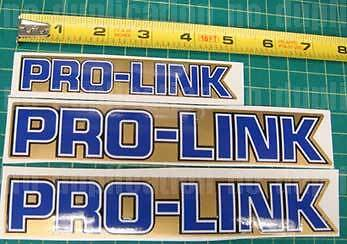 85' 86' ATC 3pc 250R vintage PRO-LINK PROLINK Swing arm decals stickers logos
