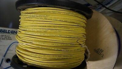 Cable Coax Belden 1506a (plenum) 1000' roll - Yellow
