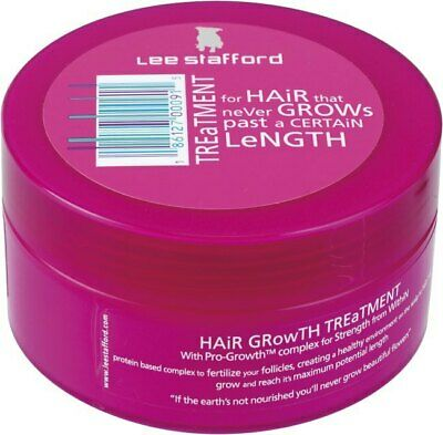 Lee Stafford Hair Growth Lengthening Healthy Smoothes Treatment Repair 200ml
