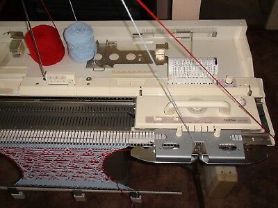 Knitting Machine Brother Kh 260 Bulky Knitting Machine Good Working Condition