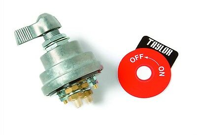 Taylor Cable 1033  Battery Disconnect Switch