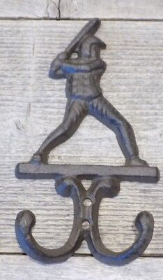 Baseball Player Coat Hook Hat Closet Childrens Room Closet Hall Tree Entry Way