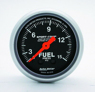 AutoMeter 3311 Sport-Comp (TM) Gauge Fuel Pressure