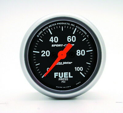 AutoMeter 3363 Sport-Comp (TM) Gauge Fuel Pressure