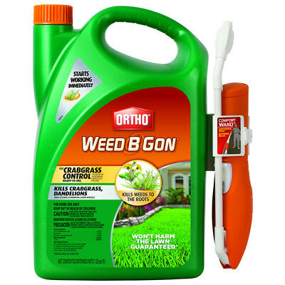 ORTHO Weed B Gon 170-oz Common Lawn Weeds  Killer Plus Crabgrass Control New