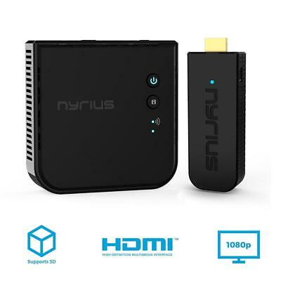 Nyrius ARIES Pro Wireless HDMI Transmitter and Receiver To Stream HD 1080p...