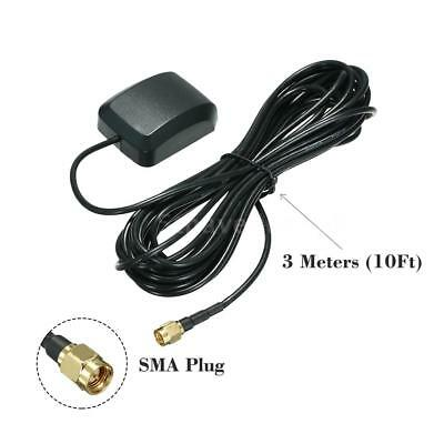 28dB 1575.42MHz SMA Antenne Auto GPS Aktive Antenne Anschluss 3Meter Cable S5Y5