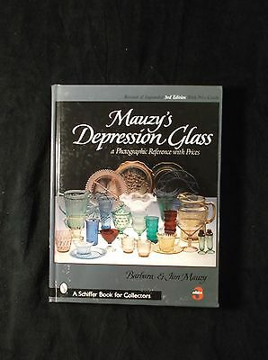 Mauzy's Depression Glass A Photographic Reference w/ Prices 3rd edition HB