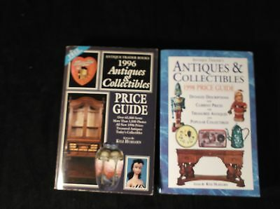 2 Antique Trader's Antiques & Collectibles 1996 & 1998 Price Guides PB Books