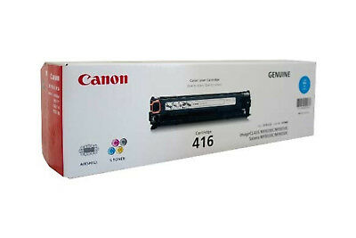 NEW Canon 416 C Laser cartridge 800pages Cyan free shipping