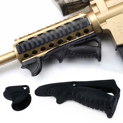 Tactical Ergonomic Forward Hand Stop Angled Foregrip Handle  Picatinny Grip