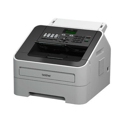 NEW Brother FAX-2840 Laser 33.6Kbit/s A4 Black,Grey fax machine free shipping