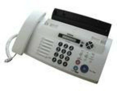 NEW Brother FAX-878 Thermal 9.6Kbit/s White fax machine free shipping