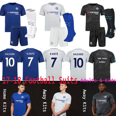 2018 Football Soccer Jersey Kit Kids football team kits For 3-14yr Adults Youth