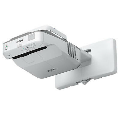 NEW EPSON EB-685WI ULTRA SHORT THROW INTERACTIVE EDUCATION PROJECTOR WHITE free