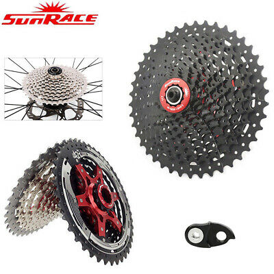 Sunrace 8/9/10/11Speed MTB Road Bike Cassette Cycling Freewheel fit Shimano SRAM