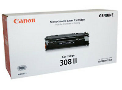 NEW Canon 308 II Laser cartridge 6000pages Black free shipping