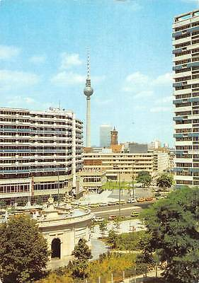 Berlin View of the Town Centre from Leipziger Strasse Tower Street Cars