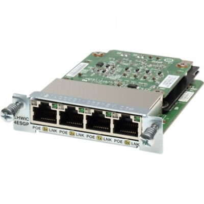 NEW Cisco EHWIC-4ESG Internal Ethernet 1000Mbit/s networking card free shipping