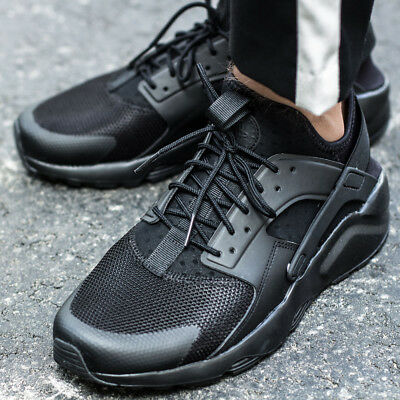 brand new f078f bbf2c NIKE AIR HUARACHE RUN ULTRA Black Schwarz Sneaker Turnschuhe Herren 819685 -002