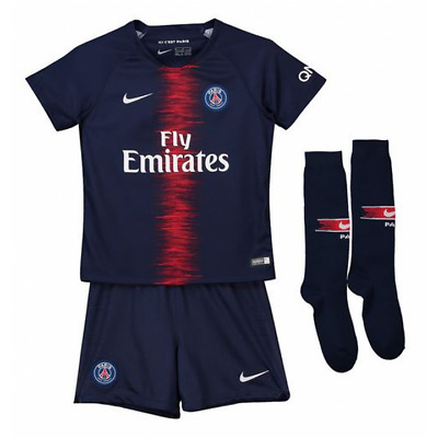 Nike Paris Saint Germain Home Kit 2018/19 - Little Kids
