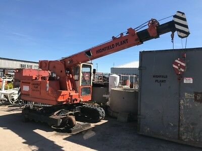 IHI CCH50t.  5t crane . Crawler Crane.  8m Boom. Great For Boat Yard's Or Barges