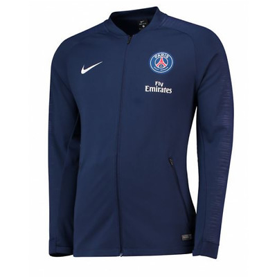 Nike PSG Paris Saint Germain Training Anthem Jacket 2018/19 - Navy - Mens