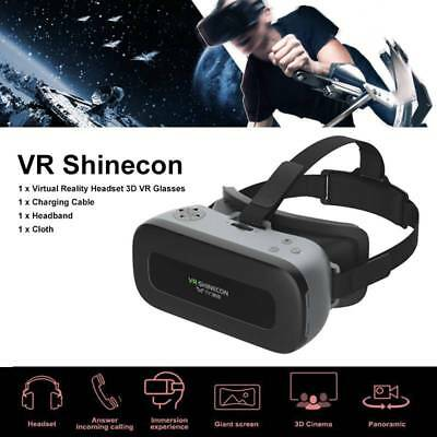 3D Virtual Reality Head-Mounted Smart VR Shinecon Glasses Educational Learning
