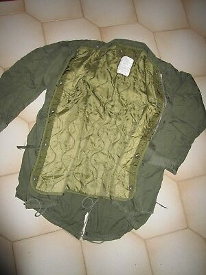 M65 Fishtail Parka,original Usa Medium With Liner,no Hood,used In Ex Condition