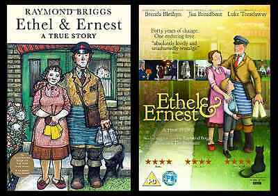The Ethel and Ernest Double Pack Ethel and Earnest A True Story DVD & Paperback