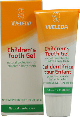 Children's Tooth Gel, Weleda, 1.7 oz