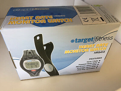 Target Fitness HRS410 Heart Rate Monitor With Chest Strap NEW