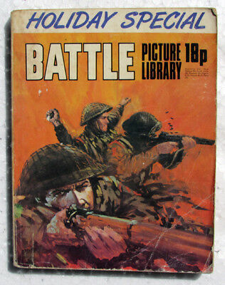 Battle Picture Library Holiday Special dated 1973 - IPC Magazines