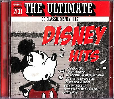 Walt Disney The Ultimate Hits 2 CD Album Very Best Of Greatest Collection Movie