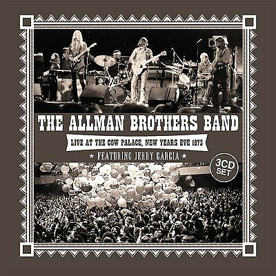 Live At The Cow Palace, New Years Eve 1973 Allman Brothers Band 0823564662923