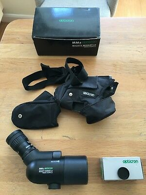 Opticron Mighty Midget MM2 travel Scope with HDF zoom and stay-on case