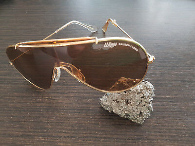 Vintage Bausch & Lomb Wings Brown Sunglasses  made in USA.