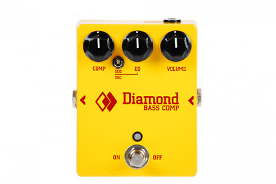 Diamond Pedals Bass Comp Compressor DEMO