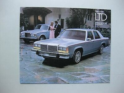 Ford LTD brochure Prospekt text English 1980 16 pages