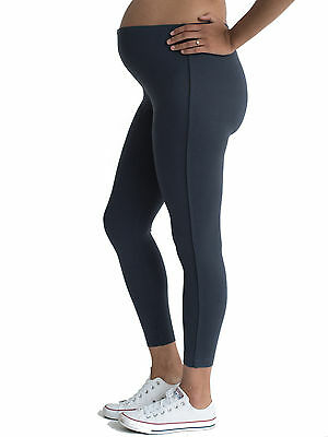 Grey Maternity Pregnancy Leggings, Sizes 10, 12, 14 Excellent Quality