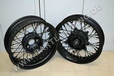 17 supermoto felgen wheels set 1996 2016 suzuki dr 650 se. Black Bedroom Furniture Sets. Home Design Ideas