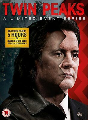 Twin Peaks: A Limited Event Series [DVD] Brand New Pre-Order 5053083138752