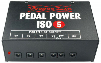 Voodoo Lab Pedal Power ISO-5 Power Supply GENTLY USED